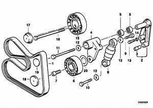 Original Parts For E36 320i M50 Sedan    Engine   Belt Drive Water Pump Alternator 3