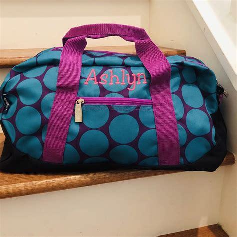 kids duffle bag personalized girls luggage tween girls gifts toddler dance bag birthday