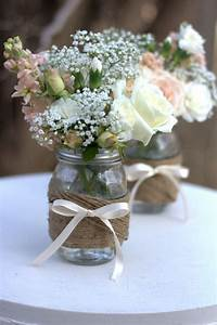 centre de table champetre mariage google search With déco chambre bébé pas cher avec bouquet de fleur avec champagne
