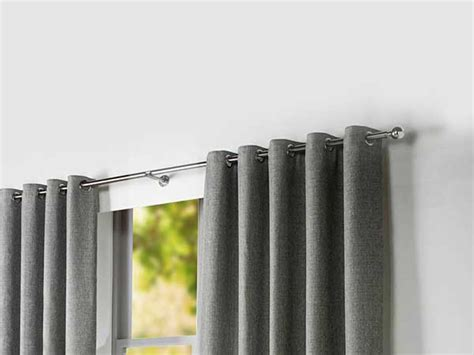 What Size Curtain Pole For 40mm Eyelet Goff Clean Curtains Window Treatments Curtain Rods Navy Blue Velvet Eyelet Shower Stall 54 X 84 Recessed Tracks Ceiling Dunelm Bird Design Black Silver Striped Stick System Walls