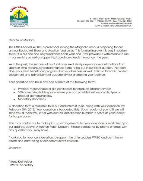 letter  donations raffle basket ideas hurray