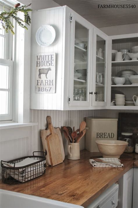 Farmhouse Kitchen Countertops by 7 Ideas For A Farmhouse Inspired Kitchen On A Budget