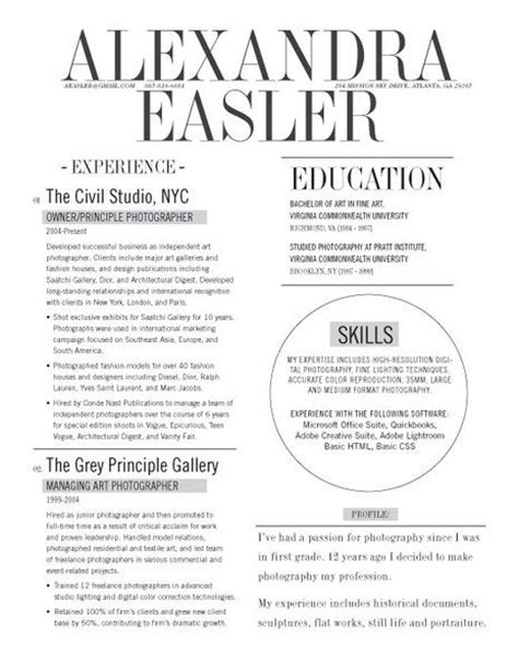 Graphically Appealing Resumes by 154 Best Images About Relations On