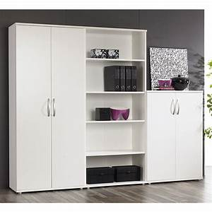 Great Contemporary Modern Bookcase With Doors Property ...
