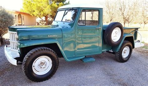 willys jeep  pickup truck