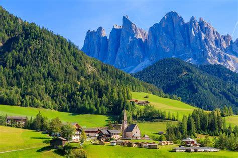 Val Di Funes Dolomiti Mountains Italy Trish Marmo