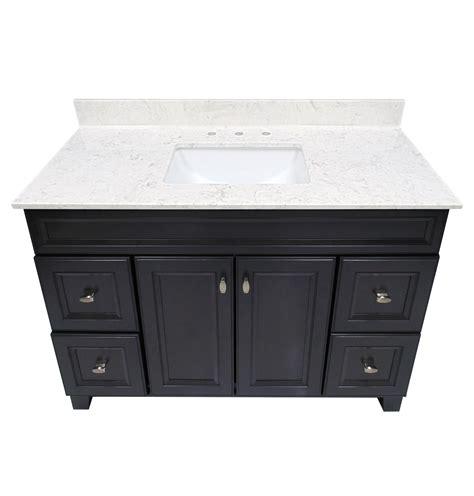 marble cultured marble vanity top steel grey  white