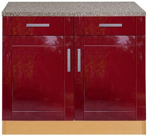küchen unterschrank mit schubladen unterschrank rot bestseller shop f 252 r m 246 bel und einrichtungen