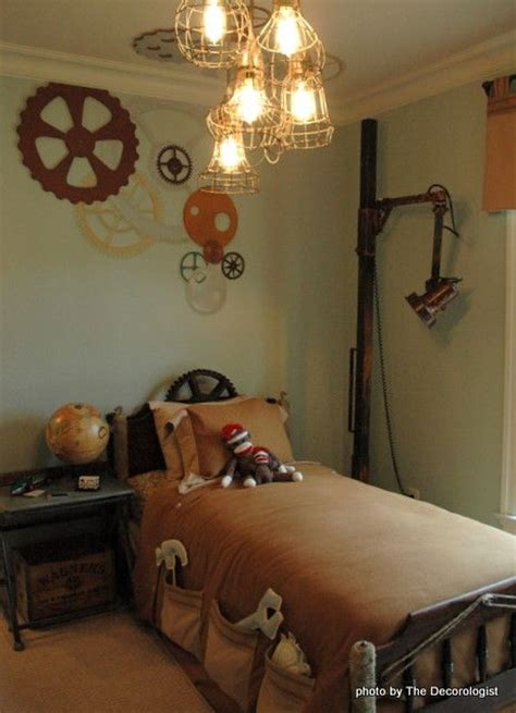 interior designs  steampunk style messagenote