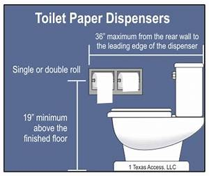 Water closet mounting height roselawnlutheran for Placement of toilet paper holders in bathrooms