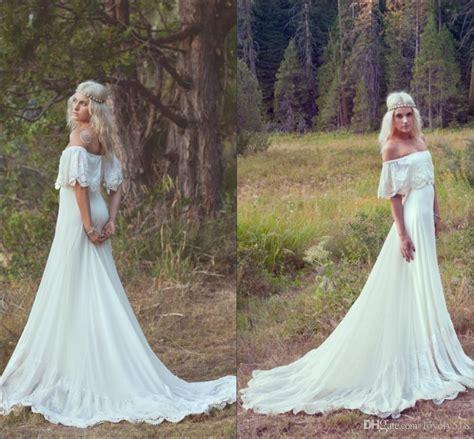discount  spring bohemian beach wedding dresses sexy