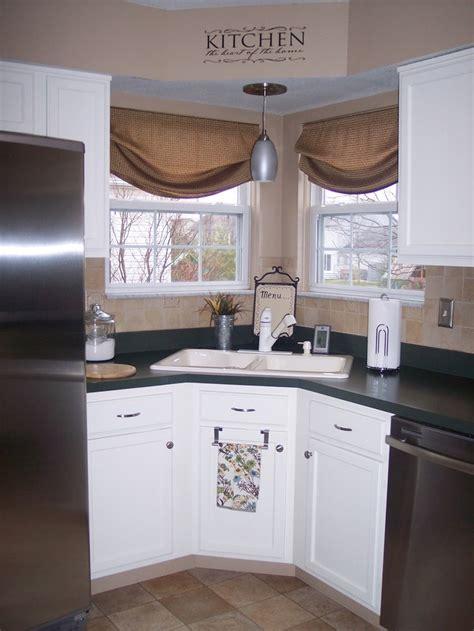 kitchen cabinet treatments 25 best corner window treatments ideas on 2817