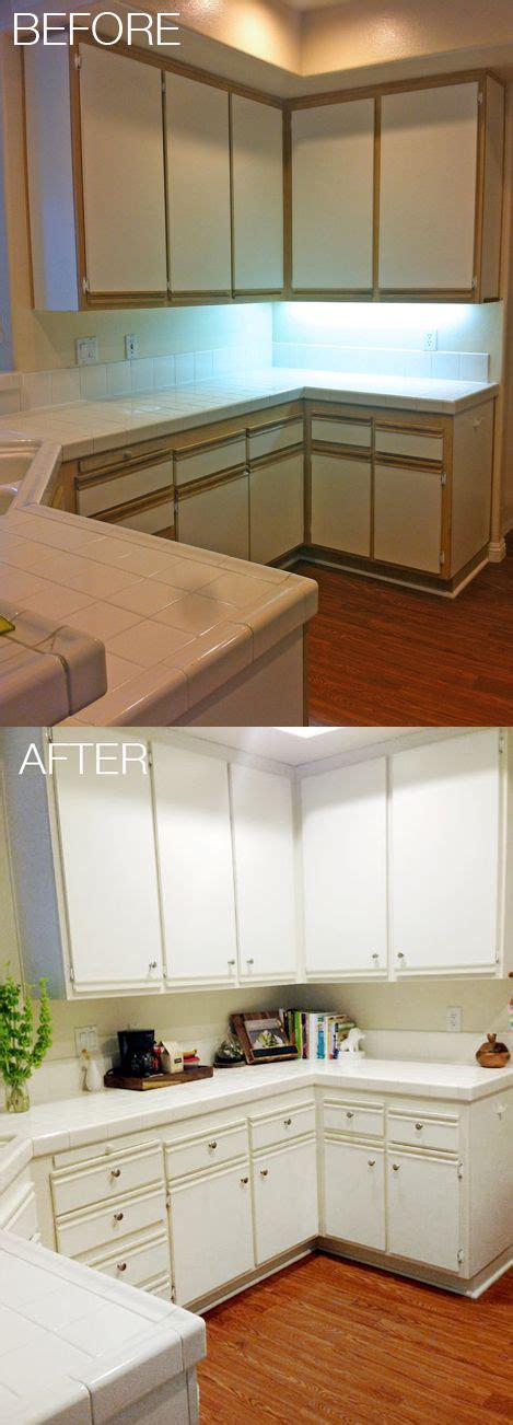 laminate kitchen cabinets makeover easy and affordable kitchen makeover update 80s laminate