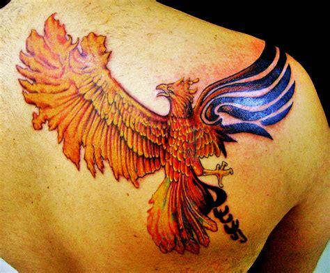 tribal phoenix  timbotattoo  deviantart