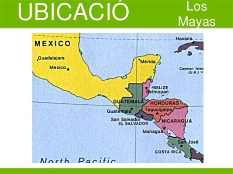 la ubicacion de los mayas ppt mayas