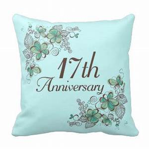 17 year anniversary gifts t shirts art posters other With 17th wedding anniversary gift