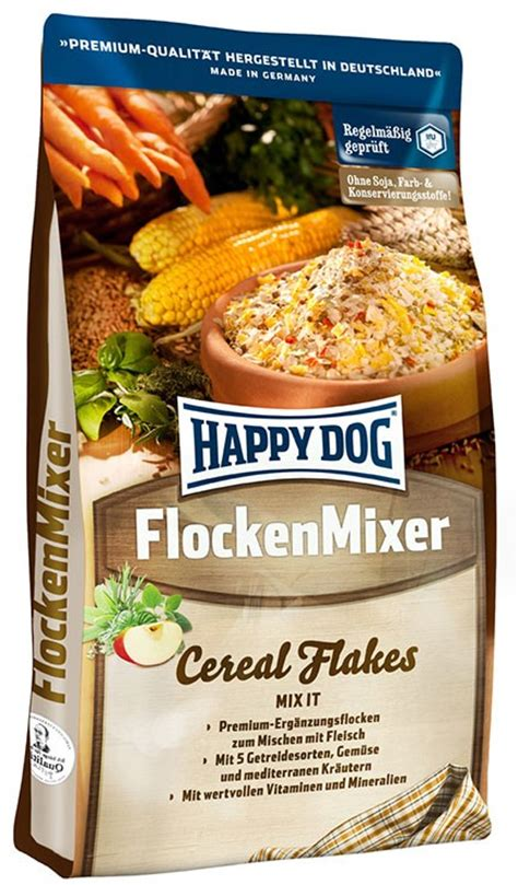 flocken mixer cereal flake dog mixer