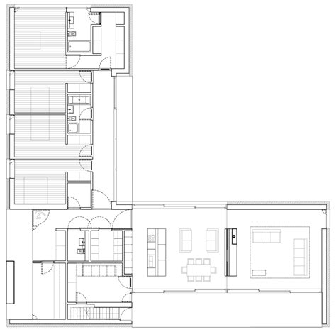 style floor l l shaped ranch style home plans
