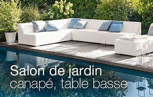 awesome salon jardin resine tressee truffaut gallery With photo amenagement terrasse exterieur 2 quel salon de jardin choisir jardinerie truffaut