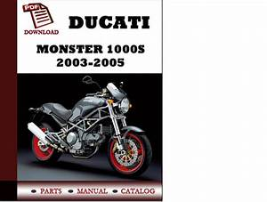 Ducati Monster 1000s Parts Manual  Catalogue  2003 2005 Pdf Downloa