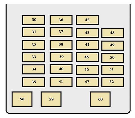 2008 Toyotum Sequoium Fuse Diagram by Toyota Sequoia 2003 2004 Fuse Box Diagram Auto Genius