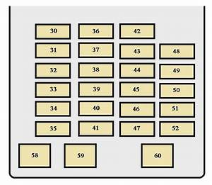 Toyota Sequoia  2003 - 2004  - Fuse Box Diagram