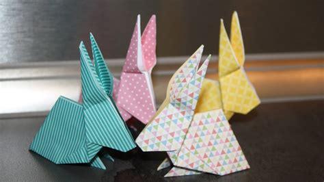 comment faire un origami comment faire un origami lapin ou lapin en papier