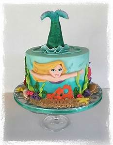 Mermaid Birthday Cake - CakeCentral com