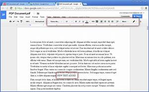 how to edit a pdf online and offline solutions With google docs to edit pdf