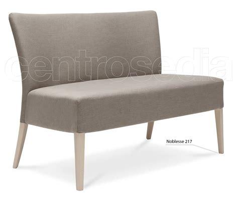 divanetto legno noblesse divanetto legno imbottito poltrone e divani design