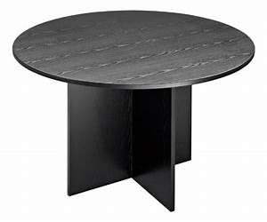 Table Ronde Noire : table ronde noire montreal 2 maxiburo ~ Teatrodelosmanantiales.com Idées de Décoration