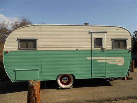 vintage travel trailer craigslist tent idea