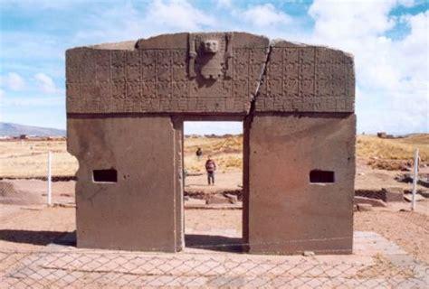 la porte du soleil tiahuanaco la plus vieille ville du monde famille et amis angescorpion
