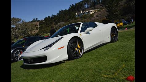ferrari  spider white youtube