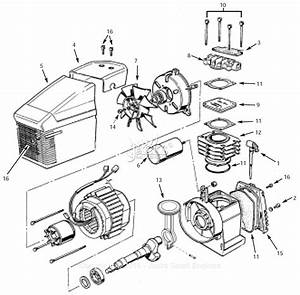 Campbell Hausfeld Fp005000av Parts Diagram For Pump Parts