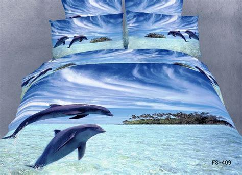 dolphin 3d bedding set 3d wild animals design bedding