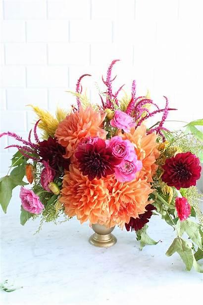 Floral Fall Arrangement Flowers