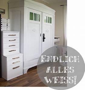 Schrank Weiß Streichen Ohne Schleifen : endlich alles wei creativlive ~ Markanthonyermac.com Haus und Dekorationen