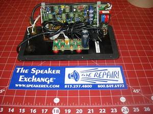 Definitive Technology Supercube Reference Preamp Board Chab