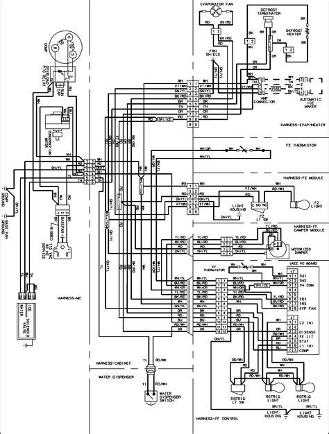 whirlpool microwave wiring diagram