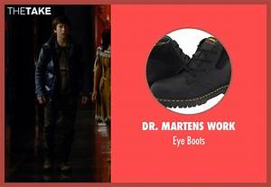 Skyler Gisondo Dr. Martens Work Eye Boots from Night at ...