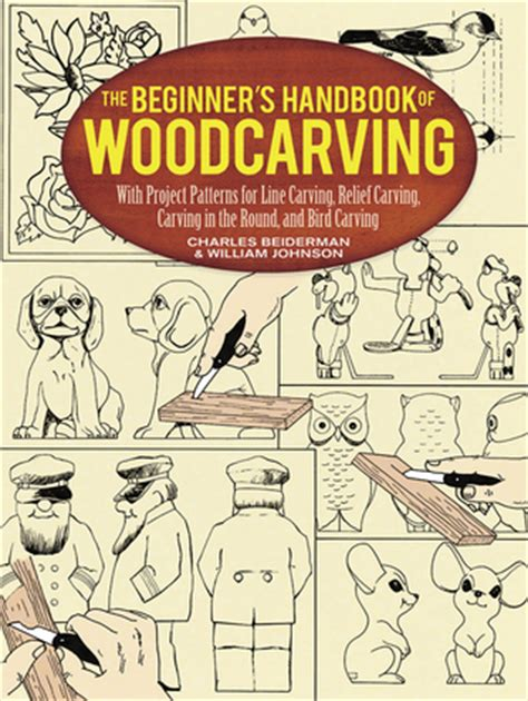 beginners handbook  woodcarving  project patterns   carving relief carving
