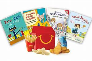 You Can Now Get Free Books in Your Next Happy Meal ...