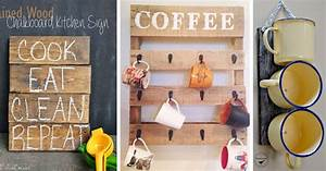 The 35 Best DIY Kitchen Decorating Projects – Cute DIY