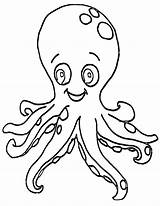 Octopus Coloring Pages Octopus1 sketch template