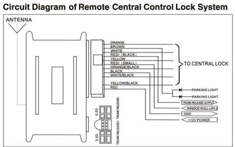 Universal Car Keyless Entry System Lock Unlock