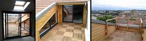 Amenagement Terrasse De Toit : am nagement d une terrasse en toiture centre ancien de ~ Premium-room.com Idées de Décoration