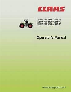 Claas Xerion 3300 3800 Saddle Trac Operator U0026 39 S Manual Pdf