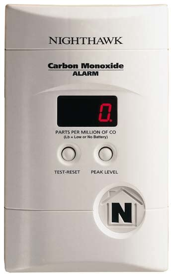 Kidde Kncopp3 Nighthawk Plugin Carbon Monoxide Alarm