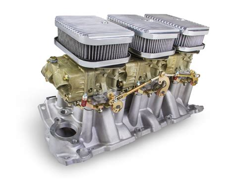 holley small block chevy tri power system parts pro news